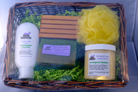 Soap, Lotion and Sugar Whipped Soap Scrub Gift Set